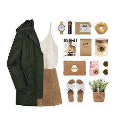 """""""ANZAC DAY 2015"""" by janettetang ❤ liked on Polyvore featuring Topshop, Miu Miu, Mimco, The Body Shop, Nixon, Illesteva, Club Monaco, Montane Designs and NARS Cosmetics"""