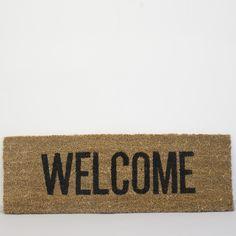 Welcome Door Mat Welcome Door Mats, Welcome Home, Entrance Ways, Home And Garden, Doors, Interior, Home Decor, House, Entry Ways