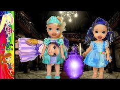 Descendants 2 Mal and Evie & Anna and Elsa Toddlers Magic Play Date Disa...