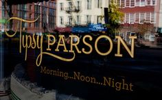 Tipsy Parson.  Southern food.