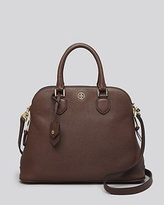 Timeless dome shaped handbag.  Chic investment.