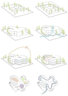 Image 34 of 41 from gallery of SINICA Eco Pavilion / Emerge Architects. Diagrams of good ventilation Gallery of SINICA Eco Pavilion / Emerge Architects - 34