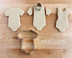 CookieCrazie: Swimsuit Cookies (Tutorial) https://cookiecutter.com/onesie-cookie-cutter.htm