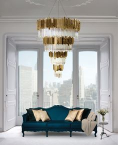 This chandelier is stunning - just needs to be wider rather than longer...