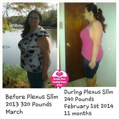 Breanna says ~ Ok here is my 11 month update. I have lost 80 pounds and serval inches. I am no longer pre diabetic. I no longer have high blood pressure. My goal is another 80 I be happy. I take 2 accelerators every morning with 2 bio cleanse and drink my pink drink at 3:00pm and at night take 2 bio cleanse with 2 Probio 5. I eat less haven't done to much diet changes due to my bad knees wasn't able to excrise much.  http://www.gotpinkdrink.org