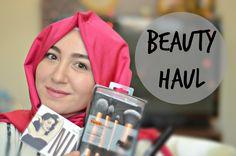 Winter Beauty Haul 2016 / Hijaber's Beauty + Makeup Shopping