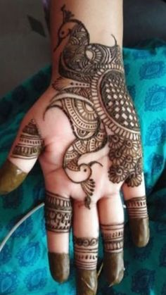 #eidspecial #mehedi #mehedidesign Mehandi Designs, Stylish Mehndi Designs, Mehendi Simple, Peacock Design, Henna, Tattoos, Candles, Patterns, Beautiful