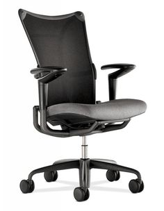 endorse mid-back mesh task chair with headrest. advanced