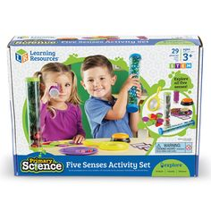 Explore all five senses!