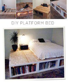 Quarto, fazer uma cama diferente