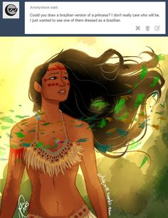 Pocahontas Redesign by juliajm15