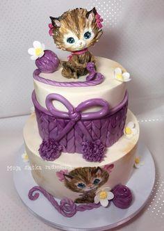 Cake Decorating Ideas Cat : Kittens cake by Branka Vukcevic Cakes & Cake Decorating ...