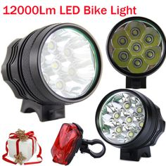 12000lm cree t6 led bike light  #bicycle head #torch cycling lamp #6x18650 batter,  View more on the LINK: http://www.zeppy.io/product/gb/2/252216214457/
