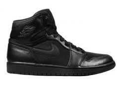 364770-004 Air Jordan 1 Phat Black Carbon Fiber A01014