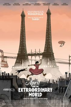 Rotten Tomatoes with Critic Score-100% and User-100%. French/Belgium/Canada Film and French Language with English subtitles.  The film is an adaptation oh the graphic novel by Jacques Tardi.  (Action & Adventure, Animated, and Comedy)