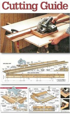 New DIY Circular Saw Guide Circular Saw Tips Jigs and Fixtures WoodArchivist