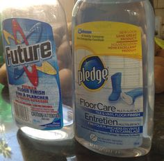 More Clay Play Time & the Future - for future reference - what used to be Future, is now Pledge Floor Care.