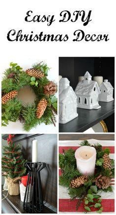 Easy DIY Christmas Decorations.