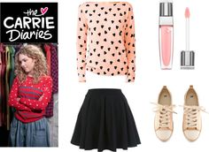 """""""The Carrie Diaries Inspired Outfit"""" by alizannesevigny ❤ liked on Polyvore.....Kama this one is for you:)"""