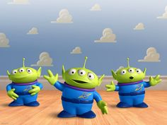 """You are viewing Toy Story 3 Aliens from Cartoons category. To download this wallpaper, choose your desktop resolution bellow picture and in new window right click on the wallpaper, and select option """"Save as Background""""."""