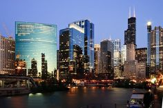 Chicago.  I've been twice ~ spent a month there in total.  I'd love to go back!