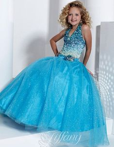 Tiffany Princess Girls Pageant Dress 13314 at frenchnovelty.com only $247.99