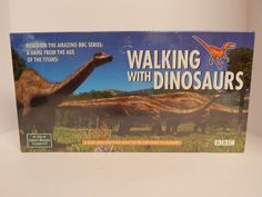 RARE ! Walking With Dinosaurs Game BBC The Green Board Game Co. Factory Sealed #TheGreenBoardGameCo