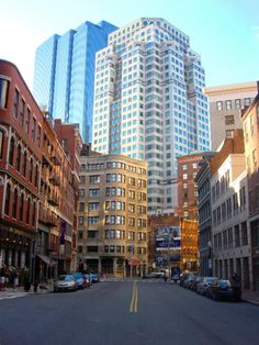 Boston, MA....I've never visited, so I have no idea why I am so obsessed!