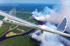 The Solara 50, developed by Titan Aerospace, is an unmanned solar-powered aerial vehicle with expansive satellite capabilities.