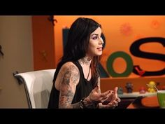 Tattoo artist, model and reality TV star Kat Von D says it took getting sober to truly live consciously, and now with five years in recovery she's finding happiness.