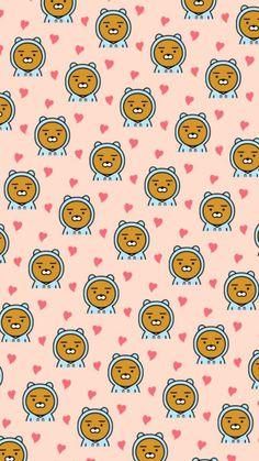Cosita bella Kakao Ryan, Kakao Friends, Line Friends, I Wallpaper, Retro, Kpop, My Best Friend, Girly, Cute