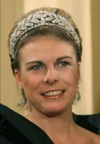 Princess Laurentien of the Netherlands in the Laurel Wreath tiara