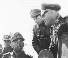 German Field Marshal Erwin Rommel in North Africa, Jun 1942