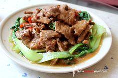 Beef with Shacha Sauce