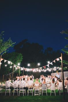 We love this casual, country wedding under the Australian night sky! Photography: Ben Yew Photography + Film - www.benyew.com Read More: http://www.stylemepretty.com/australia-weddings/2014/12/11/rustic-country-farm-wedding-in-western-australia/