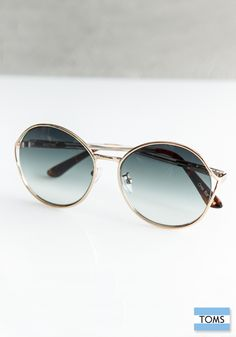 09d1e660bc64 TOMS Blythe Sunglasses not only look great