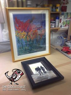 A couple of new frames for local artist Maureen Gillespie. A gorgeous gold frame and simple mount for one of her prints and an elegant black wooden frame for this lovely little painting of a boy leading his horse from the stables. You can find for of Maureen's work here... http://www.artbymaureengillespie.co.uk