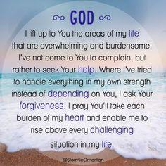 A prayer for strength...