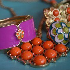 Pretty colors, Trina Turk for Banana Republic jewelry