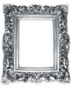 silver gothic frame 01 by goth-stock.deviantart.com on @deviantART