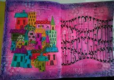 Art Journal Pages, Artwork, Petra, Art Journaling, Painting, Journals, Inspiration, Mixed Media, Group
