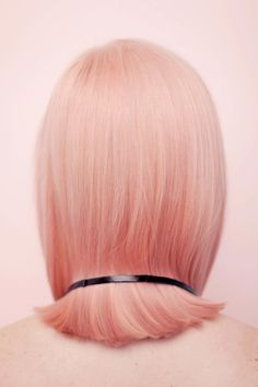 Peach hair inspo by meltcosmetics Peach Hair, Rose Gold Hair, Pink Hair, Hair Inspo, Hair Inspiration, Hugo Boss, Melt Cosmetics, Color Shampoo, Hair Raising