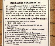 Mor Gabriel Monastery Local Customs - Culture - VirtualTourist