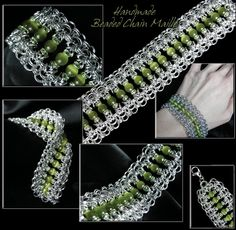 Chainmaille Jewelry Patterns | mnartists.org | Erin Bakke-Karlstad | Chain Maille Jewelry: Bracelet
