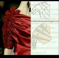 Sensational Tips Sewing Pattern Ideas. Brilliant Tips Sewing Pattern Ideas. Fashion Sewing, Diy Fashion, Ideias Fashion, Dress Sewing Patterns, Clothing Patterns, Blouse Patterns, Skirt Patterns, Coat Patterns, Diy Blouse