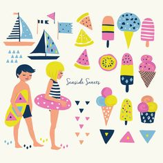 Seaside Sweets | The Ink Nest
