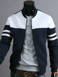 Buy 2018 Brand Men's Zipper Jacket Coat Fashion Hoodies Sportswear at Wish - Shopping Made Fun Mens Winter Coat, Winter Coats, Winter Jackets For Men, Winter Clothes, Mode Mantel, Herren Winter, Herren Outfit, Mode Style, Style Men