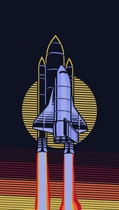USA Space Shuttle iPhone Wallpaper US Space Shuttle iPhone Hintergrundbild Best Wallpaper Hd, Pop Art Wallpaper, Dope Wallpapers, Wallpaper Space, Aesthetic Iphone Wallpaper, Screen Wallpaper, Aesthetic Wallpapers, Iphone Wallpaper Art, Iphone Wallpaper Illustration