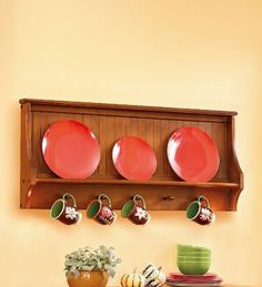 Eight wooden dish racks for a classic kitchen decor  Hometone