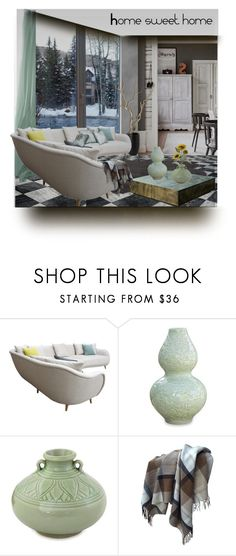 """""""Home sweet home contest"""" by barbara-gennari ❤ liked on Polyvore featuring interior, interiors, interior design, home, home decor, interior decorating, John Lewis, NOVICA and Pier 1 Imports"""